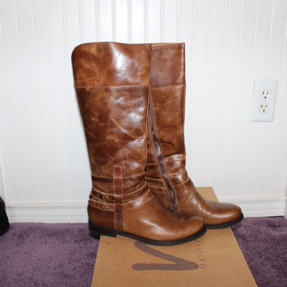 Matisse Shoes - Matisse Brown Leather Boots